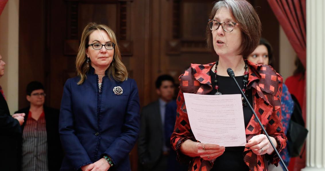 Senator Skinner Honors Gabby Giffords